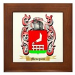 Menegucci Framed Tile