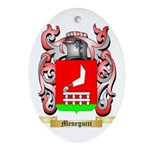 Menegucci Oval Ornament