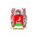 Meneghetto Sticker (Rectangle 50 pk)