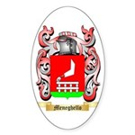 Meneghello Sticker (Oval 50 pk)