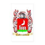 Meneghelli Sticker (Rectangle 50 pk)