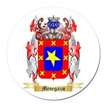 Menegazzo Round Car Magnet