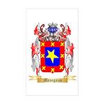 Menegazzo Sticker (Rectangle)