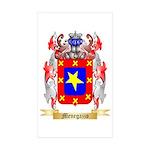 Menegazzo Sticker (Rectangle 10 pk)
