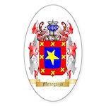 Menegazzo Sticker (Oval)