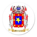 Menegazzi Round Car Magnet