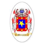 Menegazzi Sticker (Oval 10 pk)