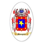 Menegazzi Sticker (Oval 50 pk)