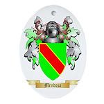 Mendoza Oval Ornament