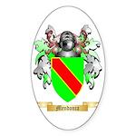Mendonca Sticker (Oval 50 pk)