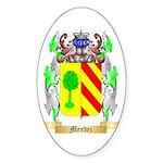 Mendez Sticker (Oval 50 pk)