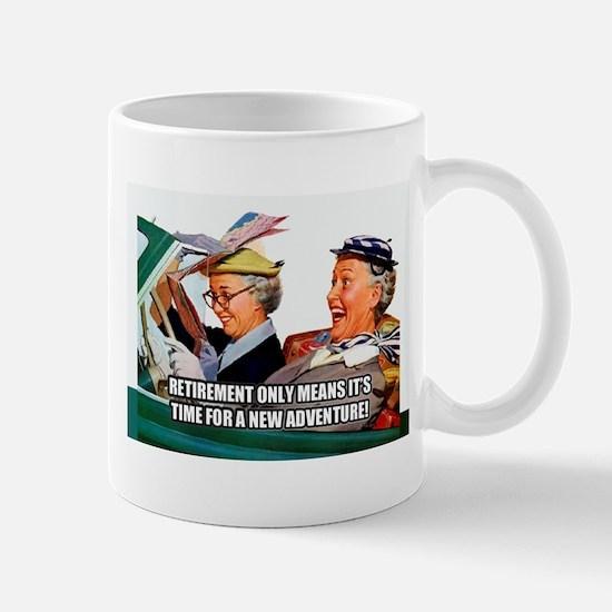 Retirement Adventure Mugs