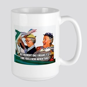 Retirement Adventure Mugs