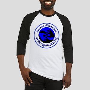 4-3-BlueCRBorder Baseball Jersey