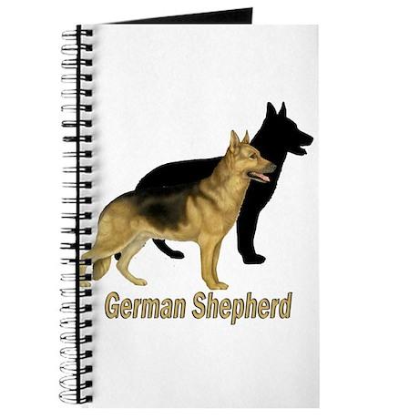 German Shepherd Profile View Journal