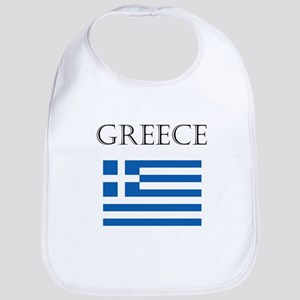 Greece Baby Bib