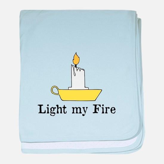 Light my Fire, The Doors baby blanket