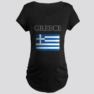 Greece Maternity T-Shirt