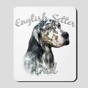 English Setter Dad2 Mousepad