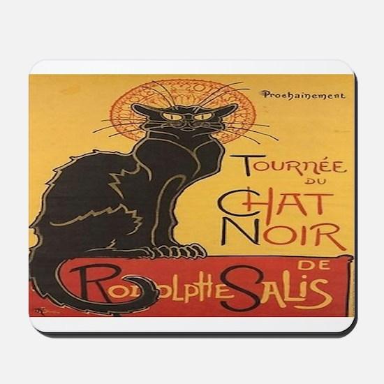 Chat Noir Mousepad