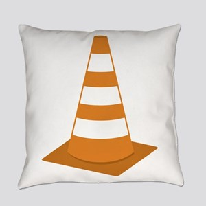 Traffic Cone Everyday Pillow