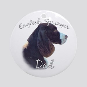 English Springer Dad2 Ornament (Round)