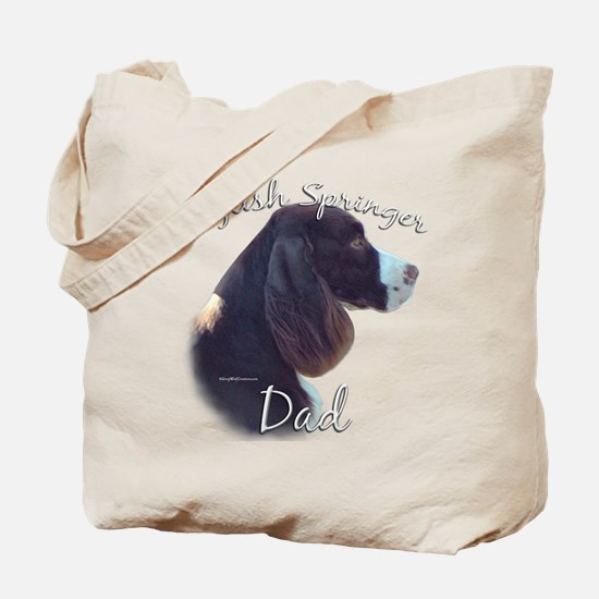 English Springer Dad2 Tote Bag