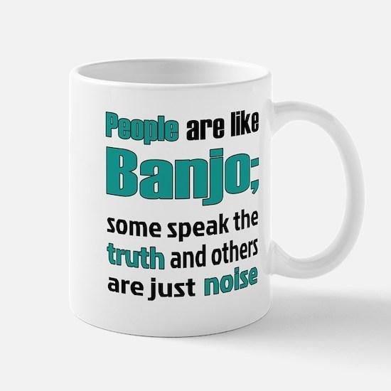People are like Banjo Mug