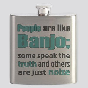 People are like Banjo Flask