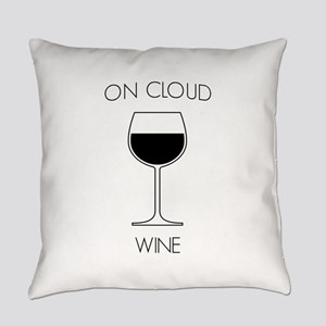 On cloud wine Everyday Pillow