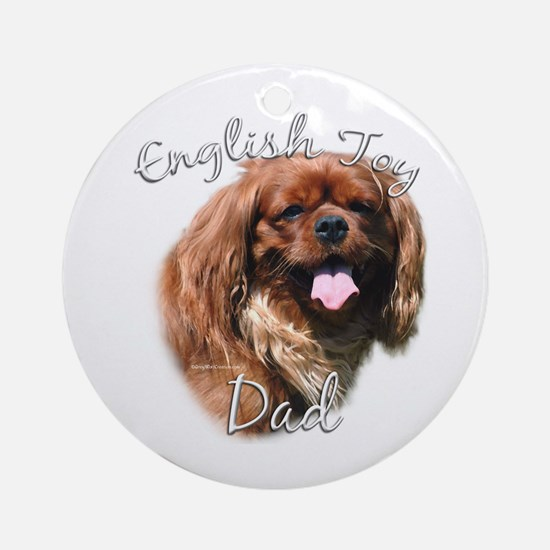 English Toy Dad2 Ornament (Round)