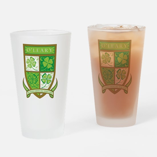 O'LEARY Drinking Glass