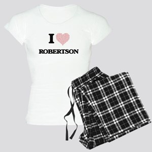 I Love Robertson Women's Light Pajamas