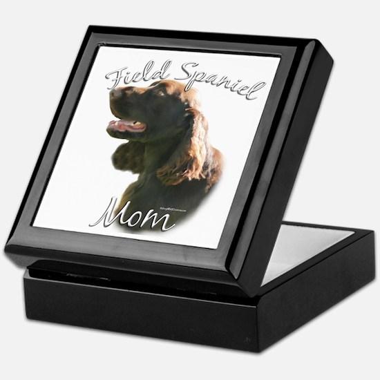 Field Spaniel Mom2 Keepsake Box