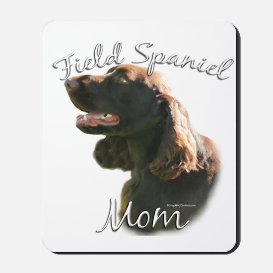 Field Spaniel Mom2 Mousepad