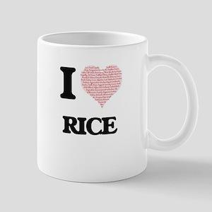 I Love Rice Mugs