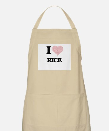 I Love Rice Apron