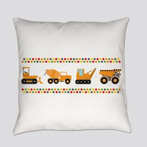 Big Truck Border Everyday Pillow