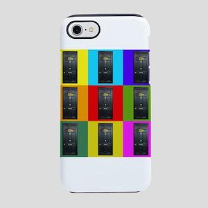 221B Door Color Block iPhone 8/7 Tough Case