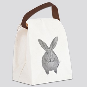 Flemish Giant by Karla Hetzler Canvas Lunch Bag