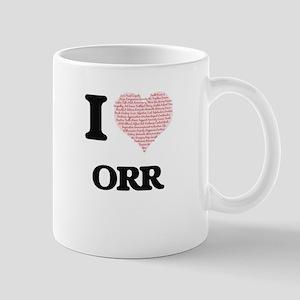 I Love Orr Mugs