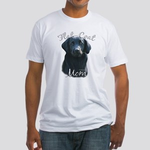 Flat-Coat Mom2 Fitted T-Shirt