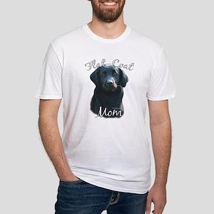 Flat-Coat Mom2 Fitted T-Shirt