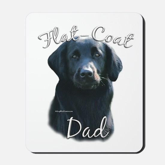 Flat-Coat Dad2 Mousepad