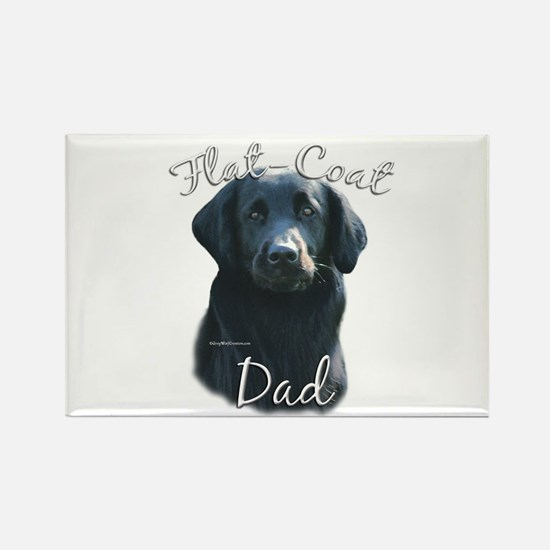 Flat-Coat Dad2 Rectangle Magnet