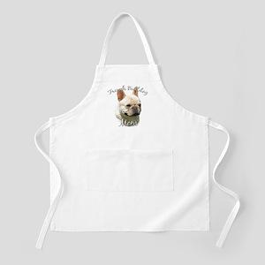 Frenchie Mom2 BBQ Apron