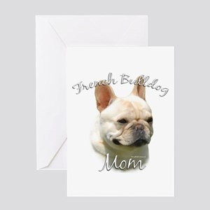 Frenchie Mom2 Greeting Card