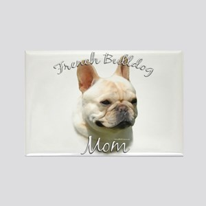 Frenchie Mom2 Rectangle Magnet