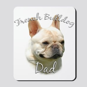 Frenchie Dad2 Mousepad
