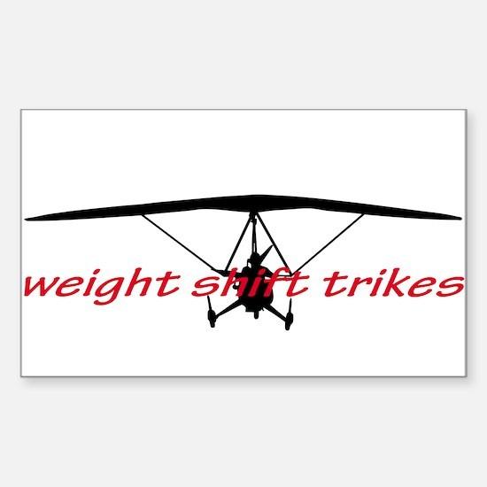 Unique Weight Sticker (Rectangle)